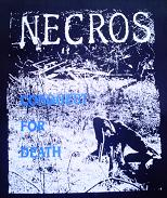NECROS - Conquest - Back Patch